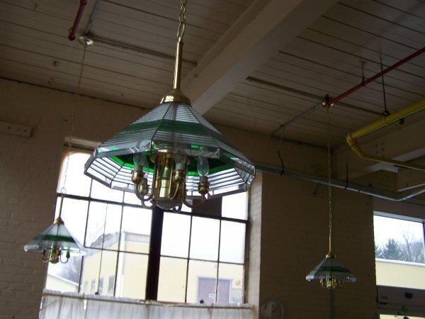 1011: Three Hanging Glass Lights