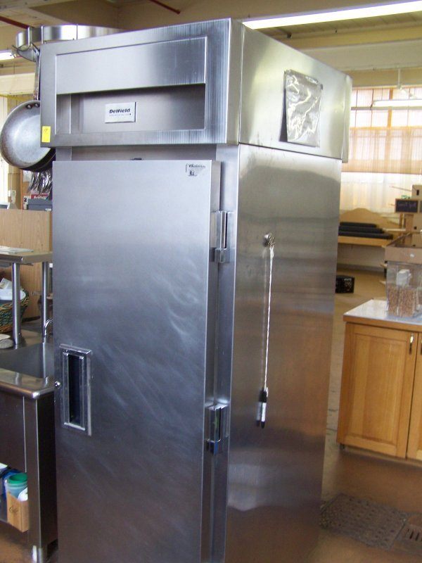 1018: Delfield Stainless Steel Commercial Double Sided