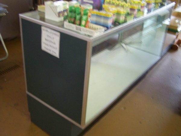 "1023: Merchandise Glass Display Case, 24"" x 60"" x 45"" H"