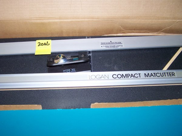 2006: Logan 301S Compact Mat Cutter