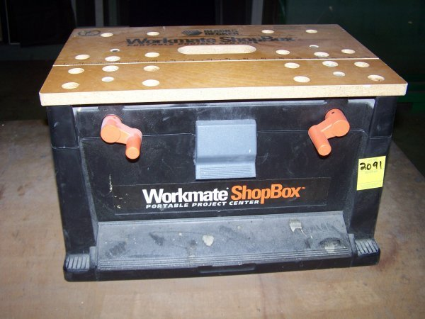 2091: Workmate Shop Box by Craftsman