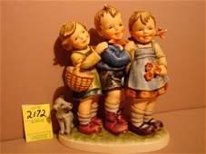 "3172: Hummel Figurine, ""Follow The Leader,"" Hum 369, TM"