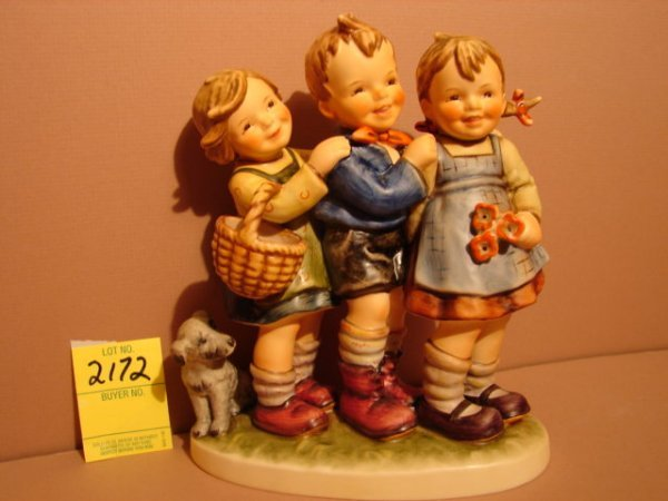"3172: Hummel Figurine, ""Follow The Leader,"" Hum 369, TM"