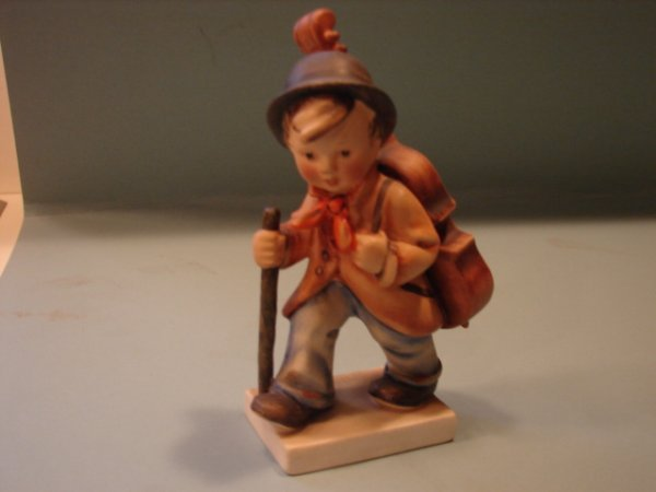 "3066: Hummel Figurine, Little Cellist,"" V with a full B"