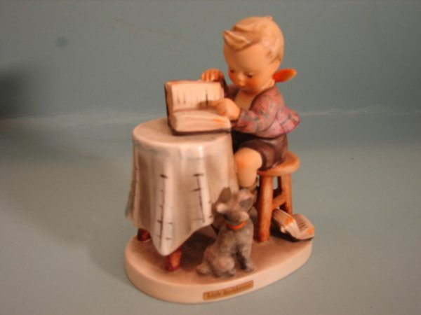 "3073: Hummel Figurine, ""The Little Bookkeeper,"" mold #"