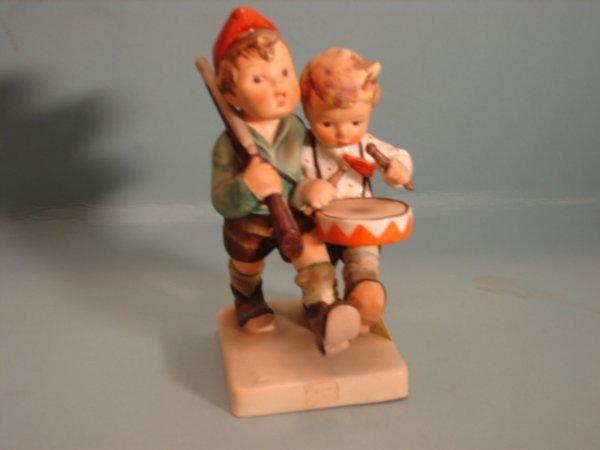 "3075: Hummel Figurine, ""Volunteers,"" mold 50/0, V with"