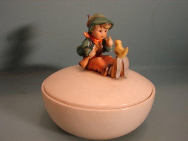 "3078: Hummel Figurine, ""Barnyard Hero,"" # 195, V with a"