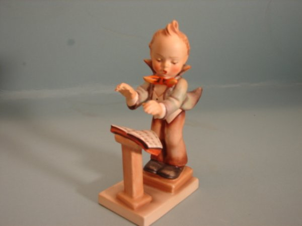 "3080: Hummel Figurine, ""Band Leader?"", V with a full Be"