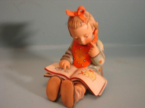 "3081: Hummel Figurine, ""Bookworm,"" 3/1, V with a styliz"