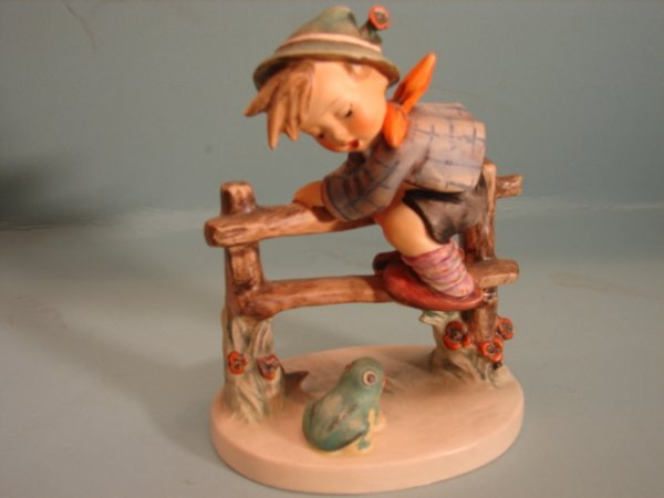 "3082: Hummel Figurine, ""Retreat to Safety,"" mold 201/1,"