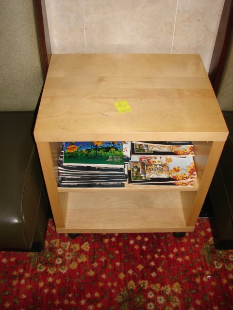 503: Side table with 2 shelves