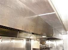 678: 20' CaptiveAir exhaust hood with ansul system