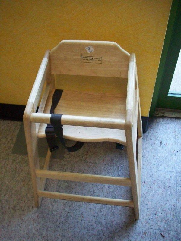 1004: Wooden Highchair