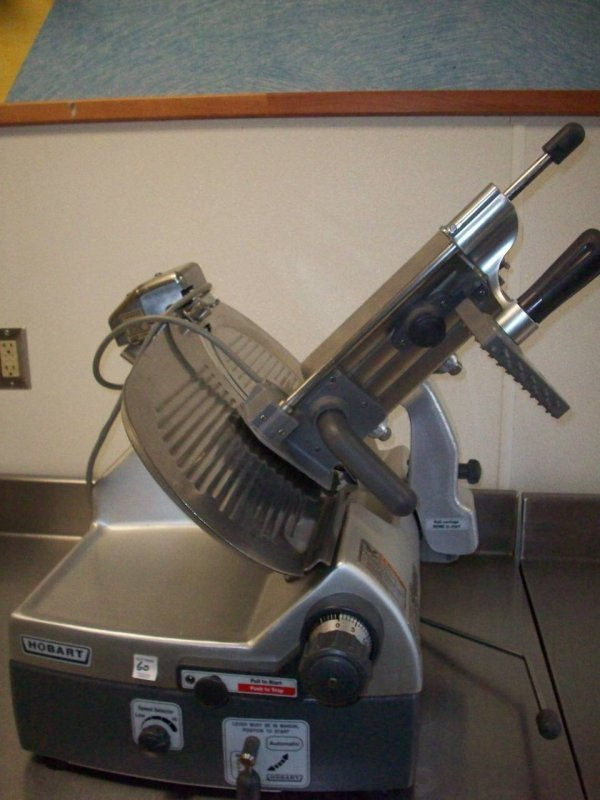 1060: Hobart Slicer, Automatic, Model: 2912, w/ Knife S