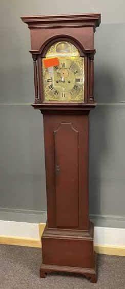 Newport Grandfathers Clock, bracket base, country,