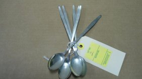 2: (6) Ice Tea Spoons, Sterling Silver, 5.08 oz. Troy