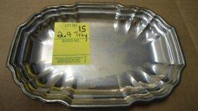 15: Dish, Sterling Silver, Lord Saybrook International,