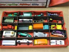 164: Lot of 80 Assorted Die Cast Cars 7 Trucks, Lesney
