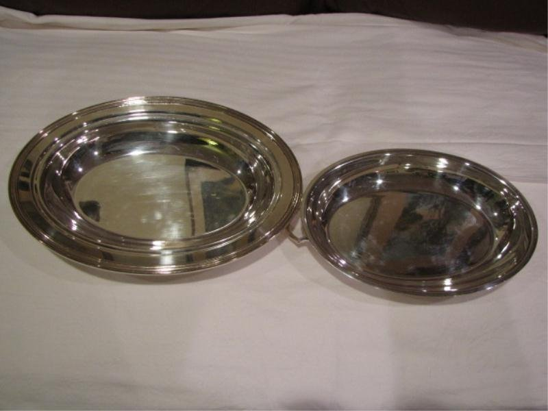 24: Silver Plate Oval Vegetable Dish With Top by Cresen