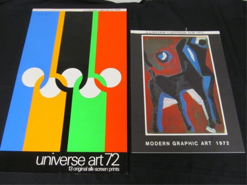 (2) Calendars, 1972 - Universe