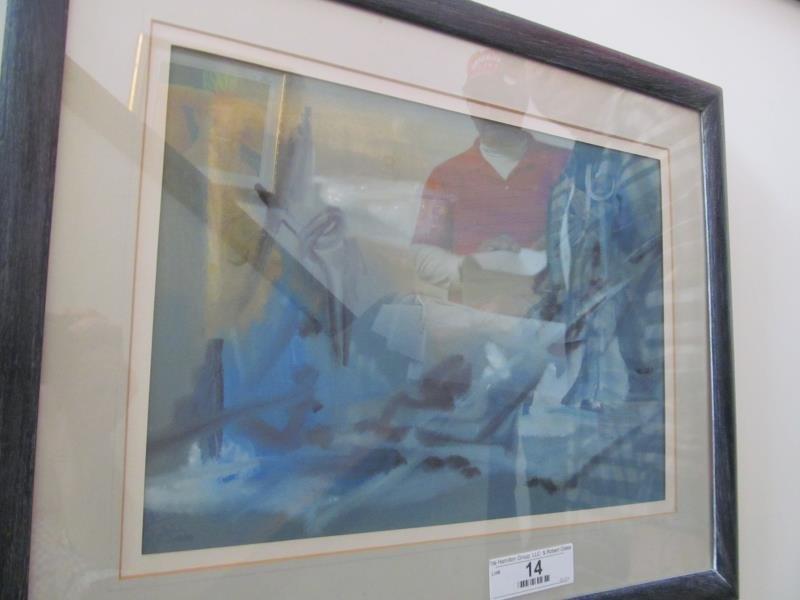 Artist Unknown, Untitled (Landscape) Oil on Canvas, No