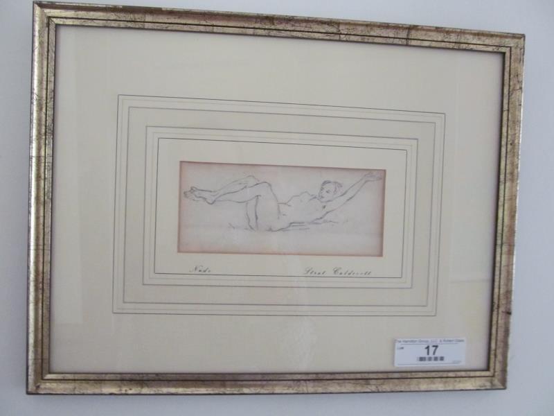 Artist Strat Calde Cott (South African 1886-1929),