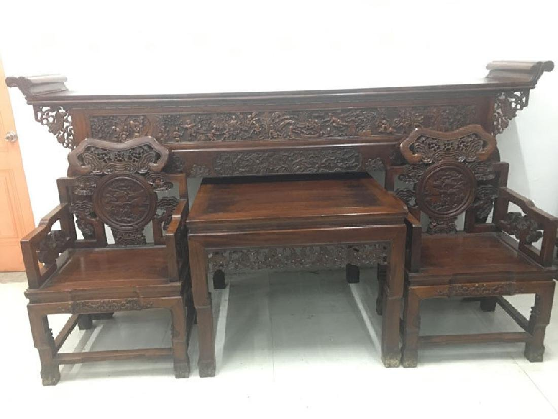 CHINESE QING DYNASTY HUANGHUALI BA XIAN TABLE ALTER