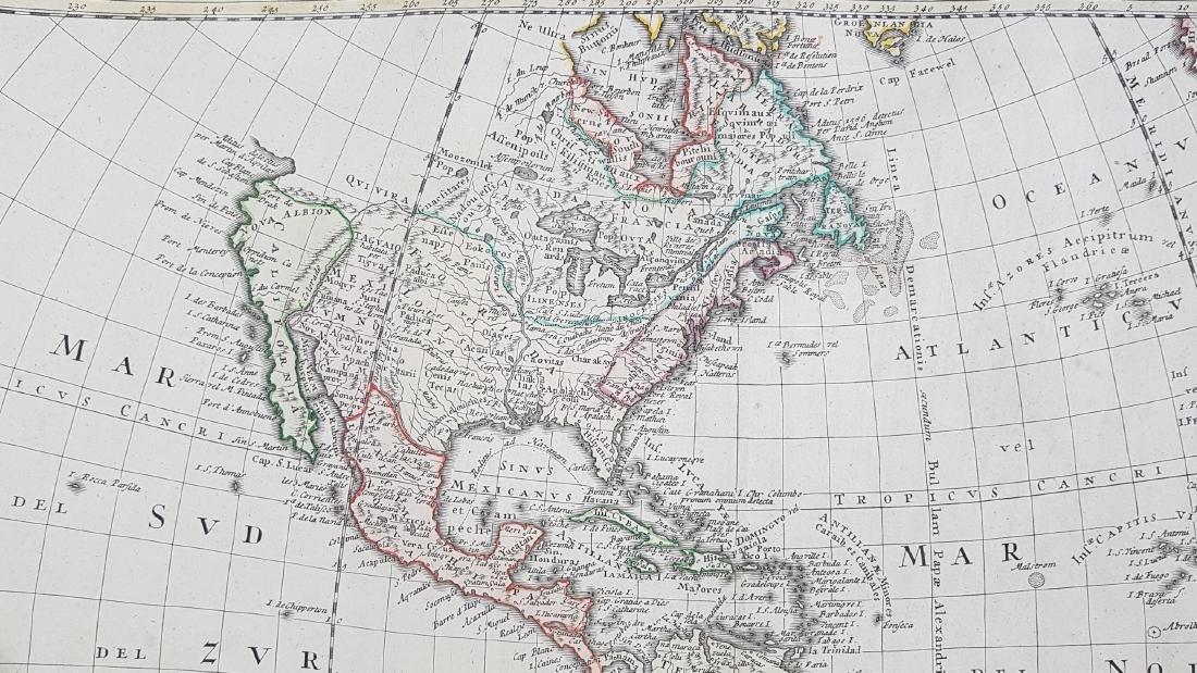 Map America 1746 Homann - 10