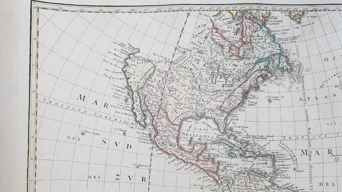 Map America 1746 Homann - 3