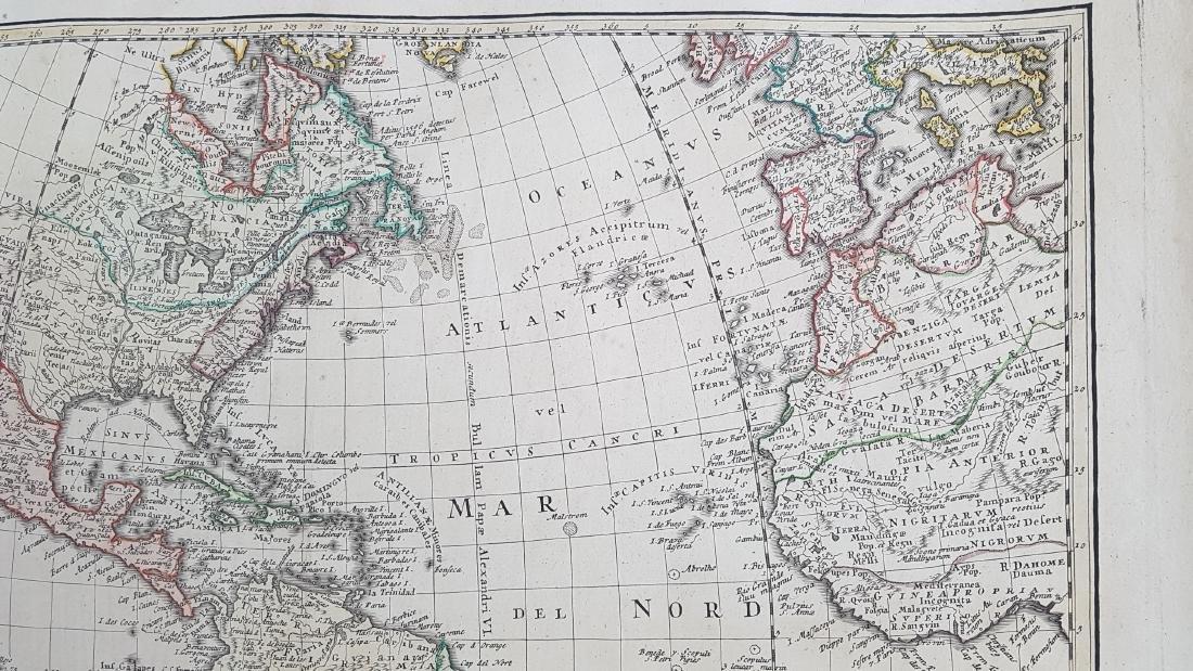 Map America 1746 Homann - 4