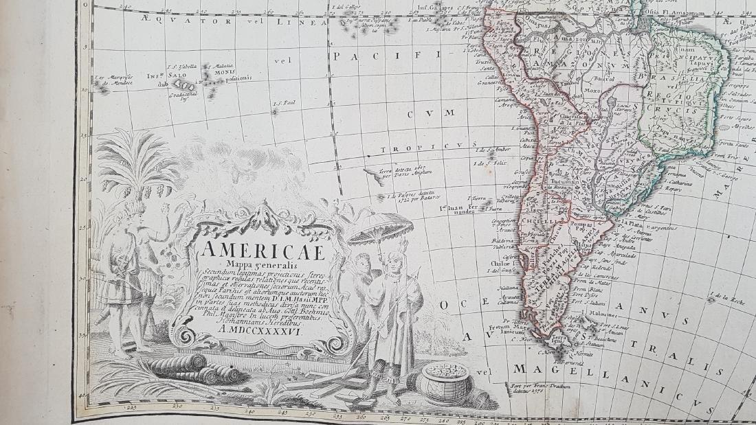 Map America 1746 Homann - 6