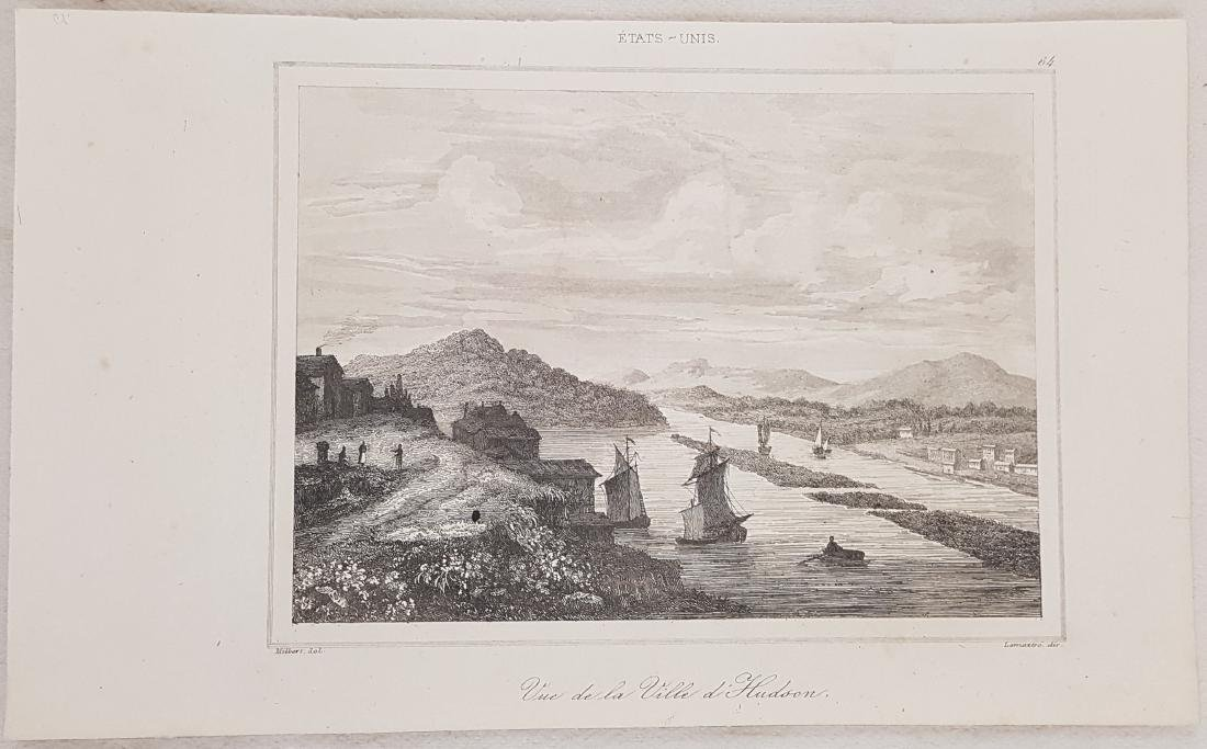 View Hudson City New Jersey 1838 Lemaitre - 2
