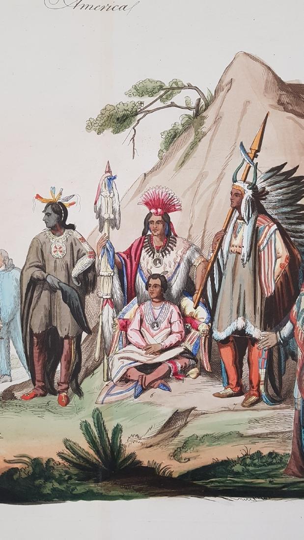 Native Indians North America 1845 Lago - 5