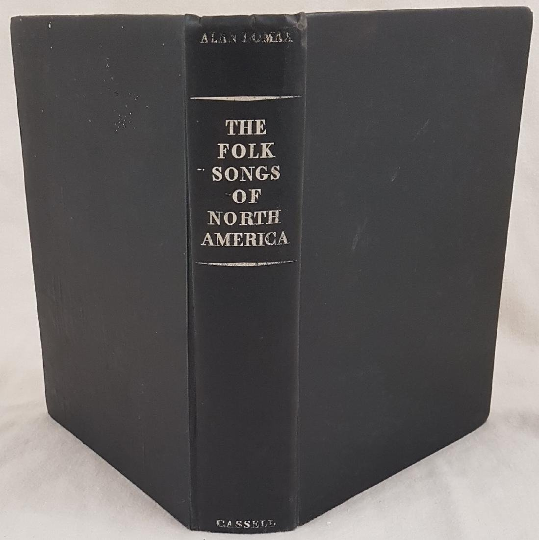 Folk songs in North America Alan Lomax 1960