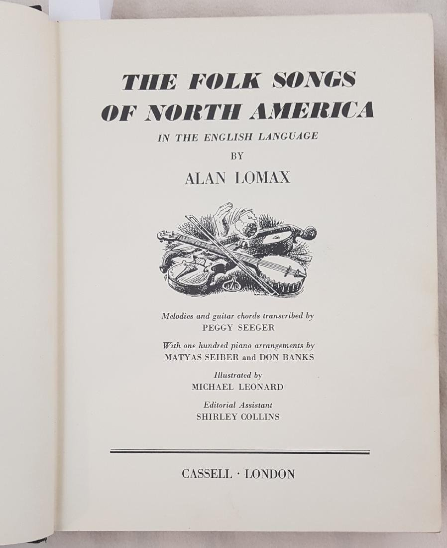 Folk songs in North America Alan Lomax 1960 - 3