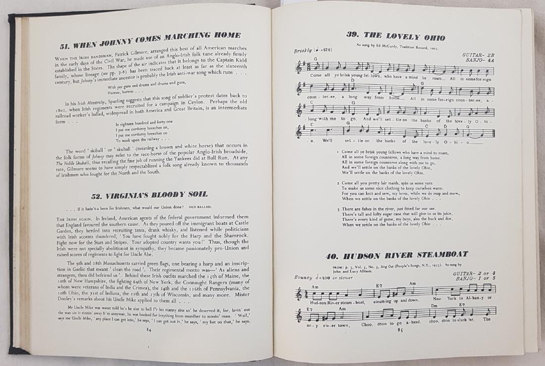Folk songs in North America Alan Lomax 1960 - 4