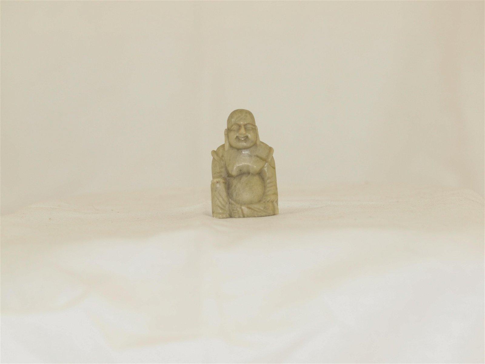 Statue Budai Happy Buddha Serpentine