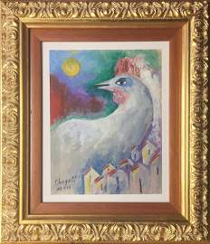 Attributed to Marc Chagall (Untitled)