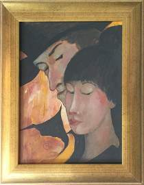 Attributed to Toulouse-Lautrec