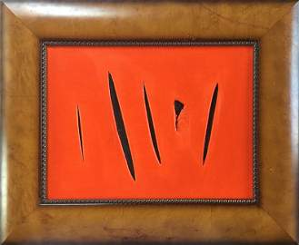Attributed to Lucio Fontana (untitled)