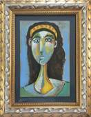 Attributed to Pablo Picasso (untitled)