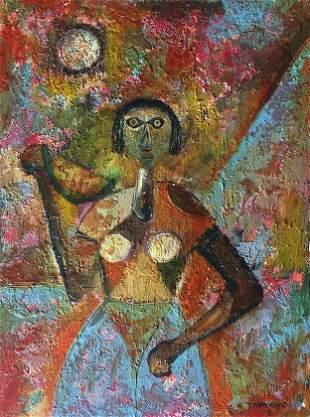 Attributed to Rufino Tamayo (untitled)