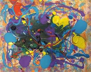 Attributed to Sam Francis (Untitled)