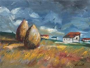 Attributed to Maurice de Vlaminck (untitled)