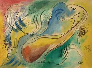 Attributed to Wassily Kandinsky (untitled)