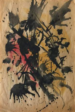 Attributed to Jackson Pollock (Untitled)
