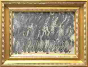 Attributed to Cy Twombly (untitled)