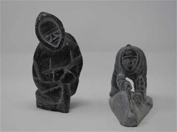 Inuit Carved Soapstone Sculptures