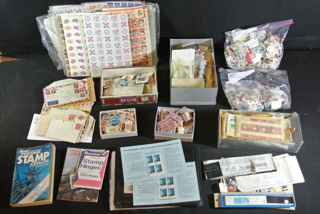 Collection Of 1000+ Stamps
