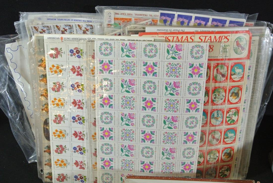 Collection Of 1000+ Stamps - 2